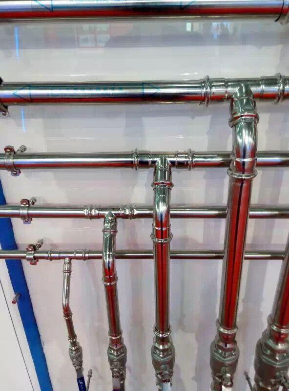 永穗牌卡压式不锈钢水管安装案例