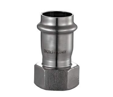 内牙直通式不锈钢水管管件